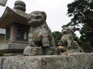 波切神社にて(志摩市大王町波切)