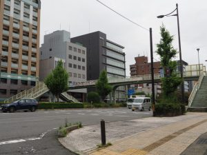 高倉通と五条通の交差点(B→C)