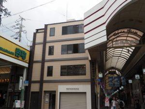 寺町・三条名店街の分岐(E→F)