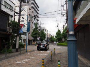 寺町通と二条通の交差点