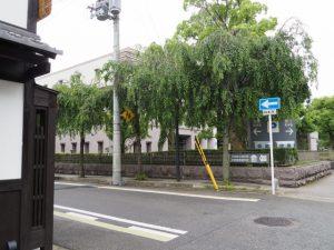 京都地方裁判所付近
