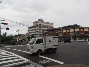 堀川丸太町交差点(H→I)