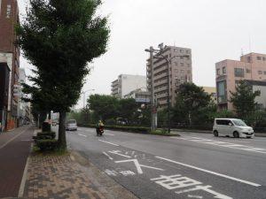 堀川丸太町交差点から北へ(H→I)