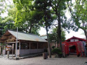 今社と清川稲荷神社(伊勢市宮町)