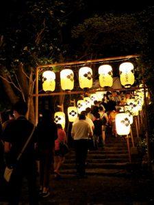赤崎さん(ゆかた祭り)、赤崎神社(豊受大神宮 末社)