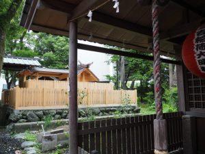 世木神社と三吉稲荷神社(伊勢市吹上)