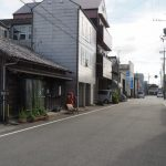この辺りでも見かけた赤崎神社の御神杉(伊勢市曽根)
