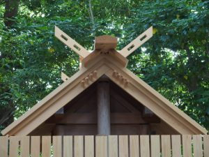 折置組の構造(外宮タイプ):河原神社(豊受大神宮 摂社)