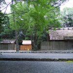 仮殿が建てられていた御塩殿神社(皇大神宮 所管社)