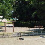 鹹水を納める樽が並べられていた御塩浜(伊勢市二見町西)