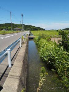 加努弥神社(皇大神宮 末社)から堀割橋(五十鈴川)へ