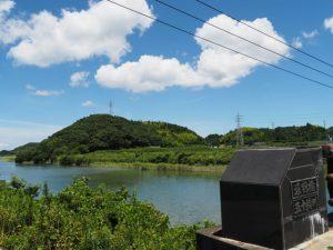 五十鈴川に架かる堀割橋からの遠望