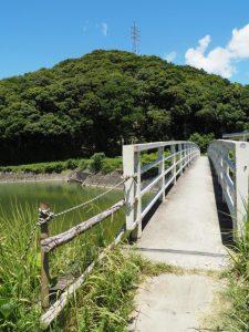 朝熊川に架かる朝熊橋