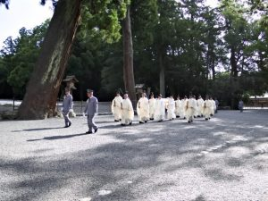皇太子殿下 御参拝臨時祭(外宮)