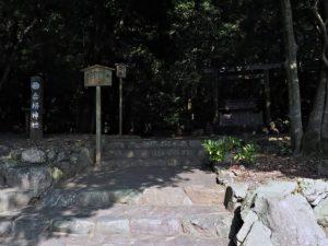 饗土橋姫神社(皇大神宮 所管社)付近