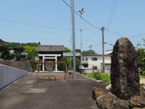 火防神 秋葉神社付近(伊勢市中村町)