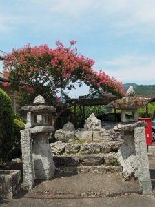 神宮と内城田神社の遙拝所(度会町下久具)