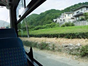 BUS STOP 度会団地前 三重交通にて乗車
