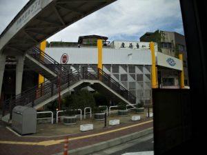 バスより眺めた伊勢銀座新道商店街