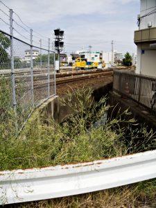 先日見つけた豊川の分流