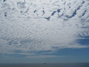 鎧崎灯台から望む太平洋(鳥羽市国崎町)