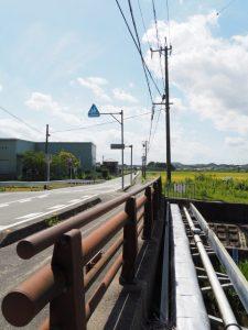 矢田橋付近(伊勢市楠部町)