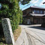 西蓮寺付近の道標(松阪市西黒部町)
