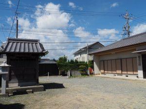 正覚寺、網屋集会所(松阪市西黒部町)