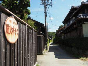 網屋集会所から意非多神社へ(松阪市西黒部町)