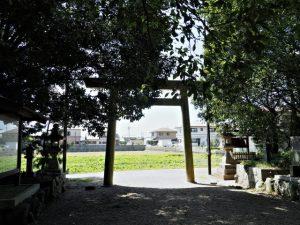 意非多神社(松阪市西黒部町)