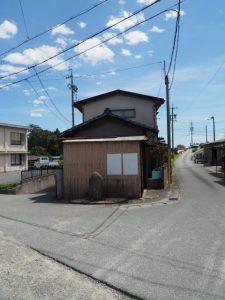 新松名瀬橋 側道橋(櫛田川)の東詰付近から松名瀬神社へ