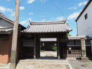 法蓮寺(松阪市東黒部町)