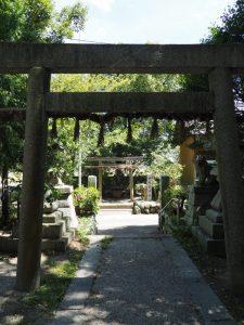 神宮遙拝所、畠田神社(多気郡明和町中村)
