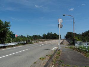 下御糸橋(祓川)西詰付近