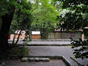 御造替を終えた御塩殿神社(皇大神宮 所管社)