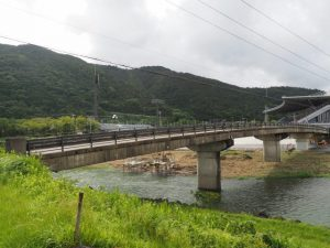 御側橋(五十鈴川)付近