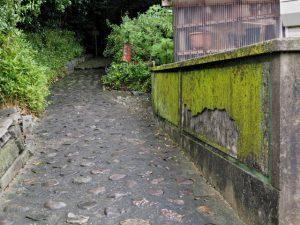 宇治山田神社(皇大神宮 摂社)の参道入口付近