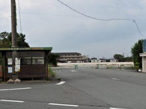 更地になっていた山田赤十字病院の跡地(伊勢市御薗町高向)