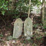 三十八丁・三十九丁 地蔵町石(宇治岳道)