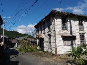 旧郵便局跡(度会郡大紀町大内山)