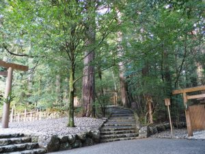 若宮神社(瀧原宮 所管社)への参道