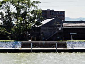 またまた浮き桟橋が姿を消している川の駅 二軒茶屋