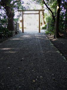 ついに仮殿が姿を消した御塩殿神社(皇大神宮 所管社)