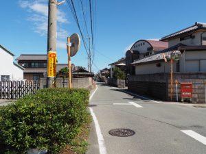 斎宮歴史博物館付近から神服織機殿神社へ