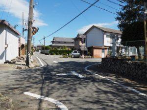 坂本遊園地付近(明和町坂本)