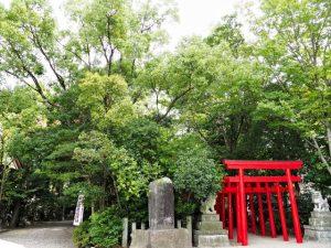 高山神社の境内社 城山稲荷神社(津市丸之内)