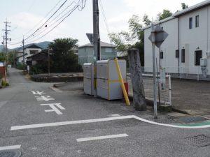 月よみの宮さんけい道の道標(伊勢市桜木町)