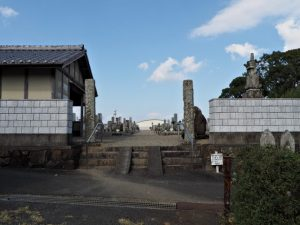 中村墓地(伊勢市中村町)
