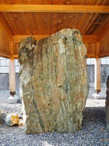 菩提山神宮寺の曼荼羅石(中村墓地)