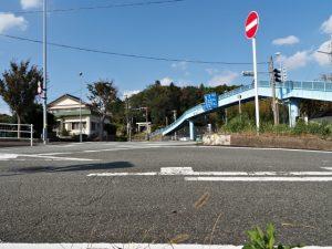 上田神社の遠望(伊勢市中村町)